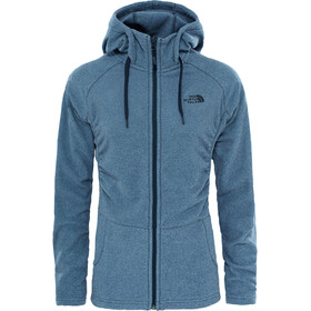 The North Face Mezzaluna Full Zip Hoodie Dam urban navy stripe